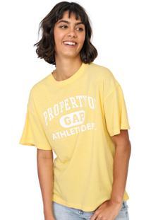 Camiseta Gap Logo Amarela