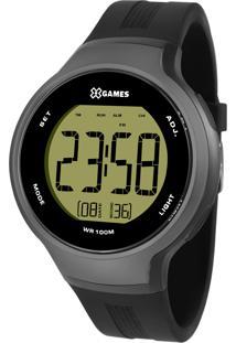 Relógio X Games Masculino Digital Cinza-Xmppd 557-Fxpx
