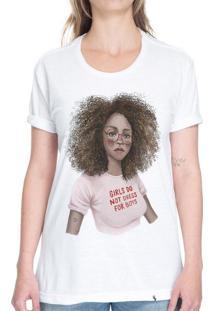 Girls Do Not Dress For Boys - Camiseta Basicona Unissex