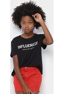 Blusa Infantil Colcci Fun Influencer Feminina - Feminino