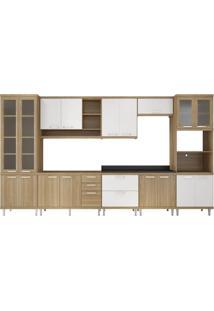Cozinha Compacta Urdinarrain 17 Pt 5 Gv Argila E Branco