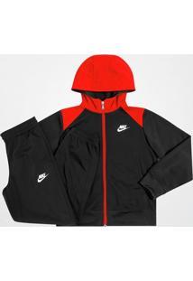 Agasalho Nike Tricot Suit Infantil C/ Capuz - Masculino