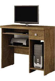 Escrivaninha/Mesa Para Computador System Valdemóveis Ipê
