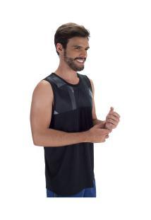 Camiseta Regata Oxer Cut Print - Masculina - Preto