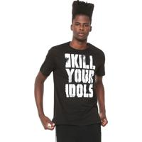 45807977d Camiseta Cavalera Kill Your Idols Preta