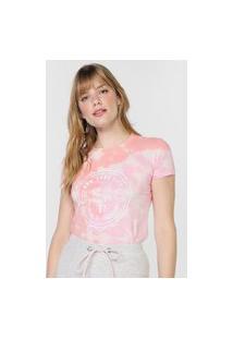 Camiseta Aeropostale Tie Dye Rosa