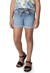 Shorts Azul Escuro Clochard Jeans
