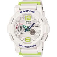 2c16f005705 Relógio Analógico Branco Casual feminino