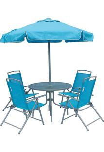 Conjunto De Jardim Bel Fix Miami Azul - Kanui