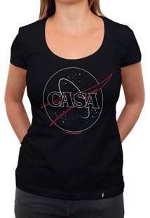 Casa - Camiseta Clássica Feminina
