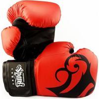 491cbc705 Luva De Boxe Muay Thai Spank - 14Oz - Unissex