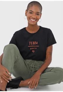 Camiseta Cantão Terra Direta Preta