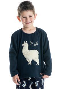Pijama Lhama Infantil Masculino