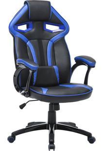 Cadeira Gamer Hera Preta E Azul