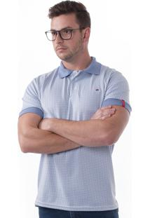 be5432d376 Camisa Polo Vista Mare Mar Del Plata Slim Fit Azul