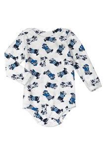 Body Infantil Masculino Rovitex Baby Branco