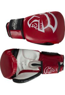 Luvas De Boxe Pretorian Elite Training - 16 Oz - Adulto - Vermelho/Preto