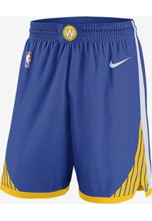 Shorts Nike Golden State Warriors Icon Edition Swingman Masculino