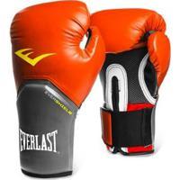 763848d06 Luva De Boxe Muay Thai Everlast Pro Style - 16 Oz - Masculino