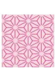 Papel De Parede Flor Line Pink