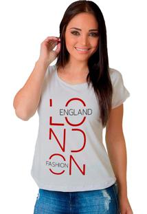 Camiseta Shop225 London Branco