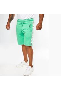 Bermuda Top Fit Advance Menta Masculina - Masculino-Verde Claro