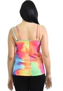 Blusa Energia Fashion Colorida