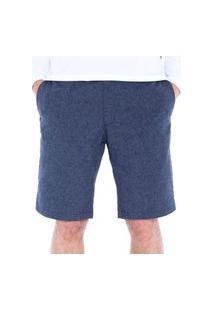 Bermuda Linen Masculino Solo Azul Jeans