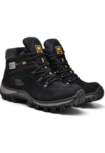 Bota Trivalle Caterpillar Adventure Preto