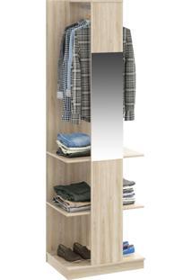 Closet Tog 2 Prateleiras 1 Cabide Com Espelho Aveiro - Bentec