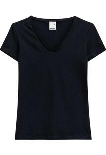 Camiseta Feminina Malwee 1000004502 00004-Preta