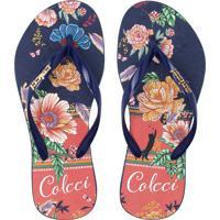 5521b78f7 Chinelo Colcci Floral feminino | Shoes4you
