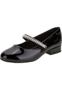Sapato Infantil Feminino Molekinha - 2528104 Preto 31