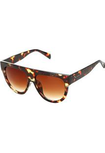 Óculos Marielas 41026 Feminino - Feminino-Onça