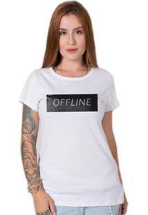Camiseta Stoned Offline Feminina - Feminino
