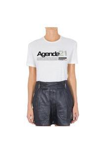 Camiseta Forseti Pet Agenda 21 Branca