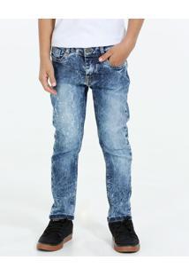 Calça Infantil Jeans Strech Marisa