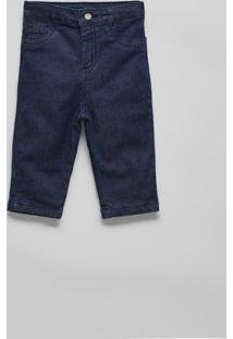 Calça Bb Jeans Forrada Reserva Mini Azul