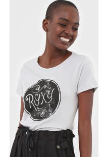 Camiseta Roxy Shine Cinza - Cinza - Feminino - Dafiti