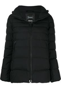 Herno Hooded Puffer Jacket - Preto