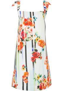 Vestido Jasmin Floral Leeloo - Off White