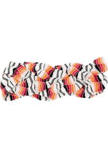 Missoni Mare Headband Estampada - Laranja