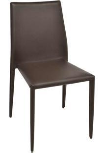 Cadeira De Jantar Amanda Marrom