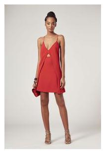 Vestido Lud Vermelho Ceuta