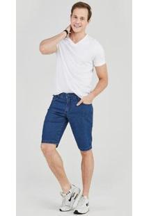 Bermuda Jeans Express Tradicional Caim Masculina - Masculino