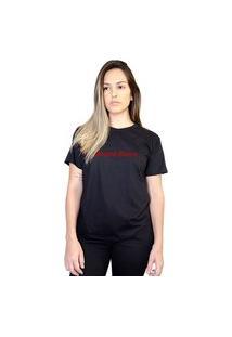 Camiseta Boutique Judith Drama Queen Preto