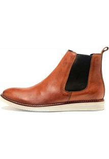 Bota The Box Project New West Masculino - Masculino-Caramelo