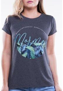 Camiseta Mormaii Básica Love Surf Feminina - Feminino