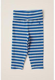 Calça Bebê Reserva Mini Ft Listra Basica Masculina - Masculino-Azul Claro