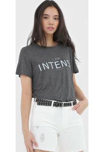Camiseta Colcci Intense Cinza
